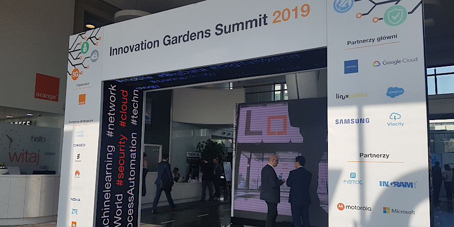4SYNC partnerem konferencji Innovation Gardens Summit 2019