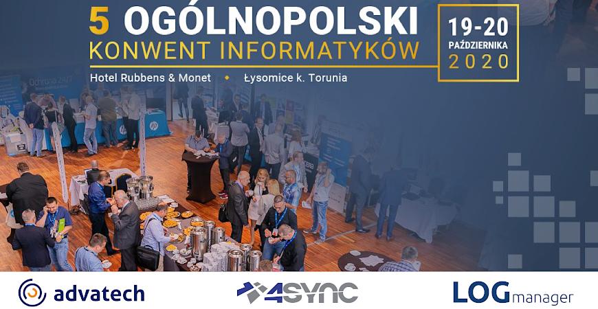 LOGmanager i Advatech partnerami 5 Ogólnopolskiego Konwentu Informatyków