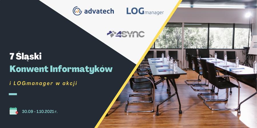LOGmanager i Advatech partnerami 7 Śląskiego Konwentu Informatyków