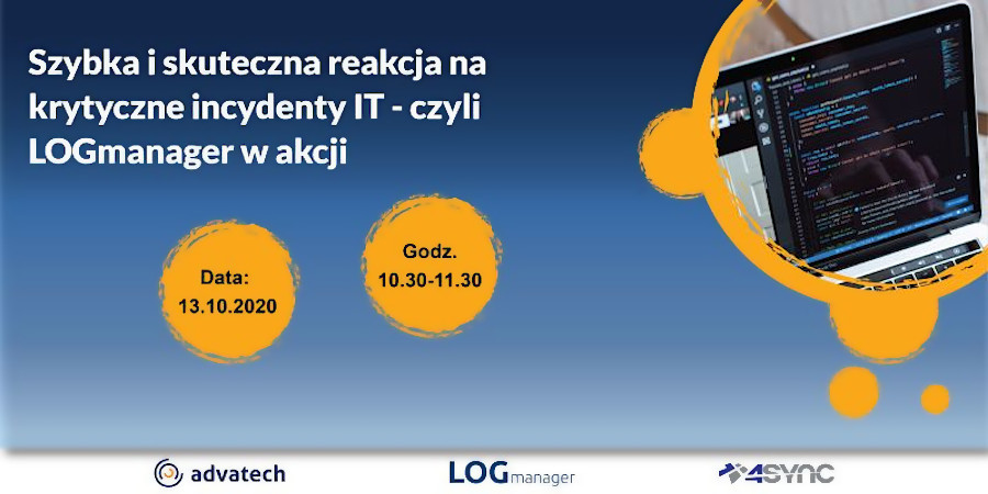 LOGmanager – spotkanie online             13 października 2020 g.10:30