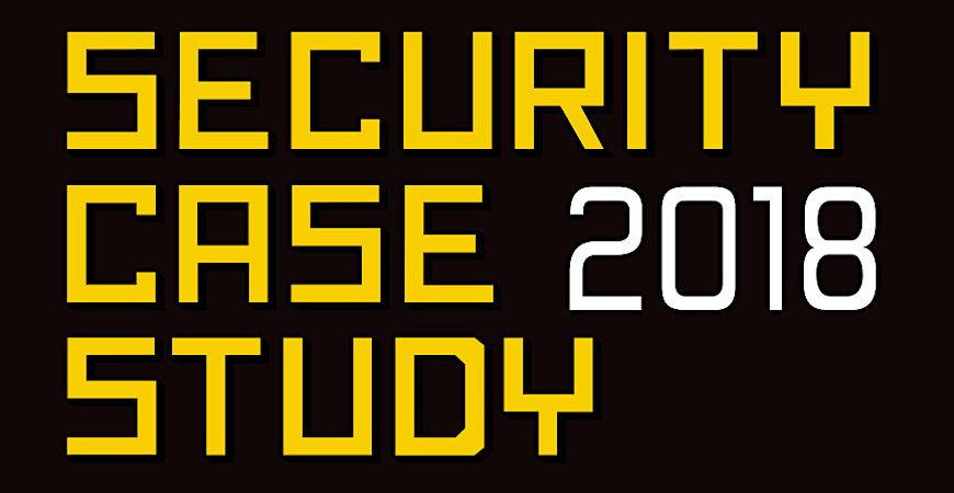 Security Case Study, 13 – 14 Września 2018, Warszawa, Hotel Sound Garden